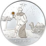 10 francs Roi Mage Gaspar – revers