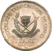 1 Zaïre (Piefort Essai) – avers