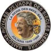 5 francs (Nederland Reine Juliana) – revers