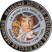 5 francs (Nederland Reine Anna Paulowna) – revers