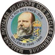 5 francs (Nederland Roi Willem III) – revers