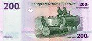 200 Francs – revers