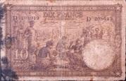 10 Francs Type 1937 – avers