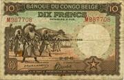 10  Francs (DEUXIEME EMISSION) – avers