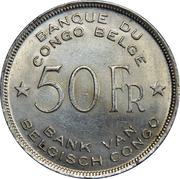 50 francs - Léopold III – revers