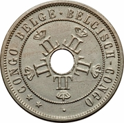 20 centimes - Léopold II – avers
