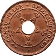 1 centime - Albert I – avers