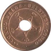 2 centimes - Albert I – avers