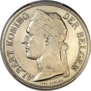 1 franc - Albert I (Essai, texte en français) – avers