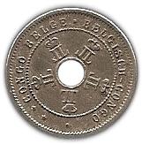 5 centimes - Leopold II – avers
