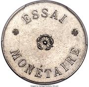 2 centimes - Léopold II (Essai) – revers