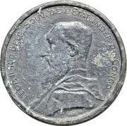 5 francs - Léopold II (Essai) – avers