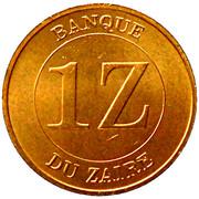 1 zaïre -  avers