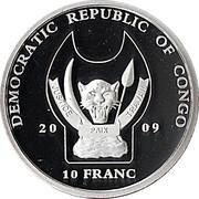 10 francs (Dromadaire) – avers
