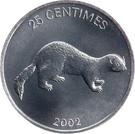 25 centimes – revers