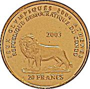 20 Francs (Hibou) -  avers