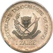 1 Zaïre (Piefort Essai) – revers