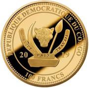 100 francs (Cognac) -  avers