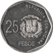 25 pesos -  revers