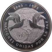 1 peso (Nations unies) – avers