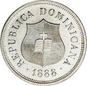 1¼ centavos – avers