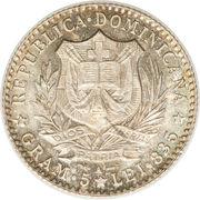 1 franco – avers