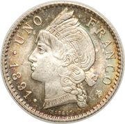 1 franco -  revers