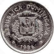 10 centavos Duarte (profil) -  avers