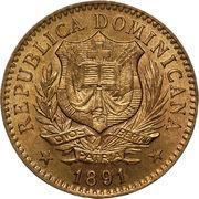 5 centesimos de franco – avers