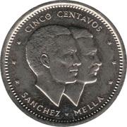 5 centavos (Sanchez-Mella) -  revers