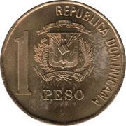 1 peso -  avers