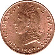 1 centavo (FAO) – revers