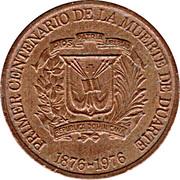 1 centavo (Juan Pablo Duarte) – avers