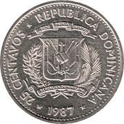 25 centavos -  avers