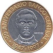 5 pesos (Banque centrale) -  revers