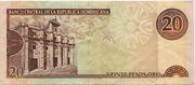 20 Pesos Oro – revers