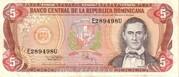 5 Pesos Oro – avers