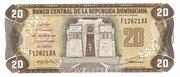 20 Pesos Oro – avers