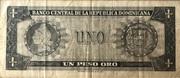 1 peso oro – revers