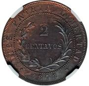 2 Centavos (Essai) – revers
