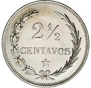 2½ Centavos (Essai) – revers
