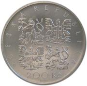 200 Korun (Pavel Josef Safarík) – avers