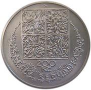 200 Korun (Karel Svolinský) – avers
