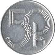 50 haléřů – revers