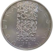 200 Korun (Jean-Baptiste Gaspard Deburau) – avers