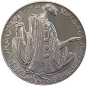 200 Korun (Jean-Baptiste Gaspard Deburau) – revers