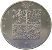 200 Korun (Frantisek Palacký) -  avers