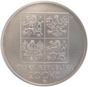 200 Korun (Frantisek Kmoch) – avers
