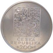 200 Korun (Ondrej Sekora) – avers
