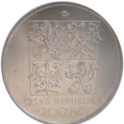 200 Korun (Vítezslav Nezval) – avers